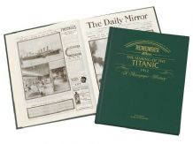 Titanic - Newspaper Book